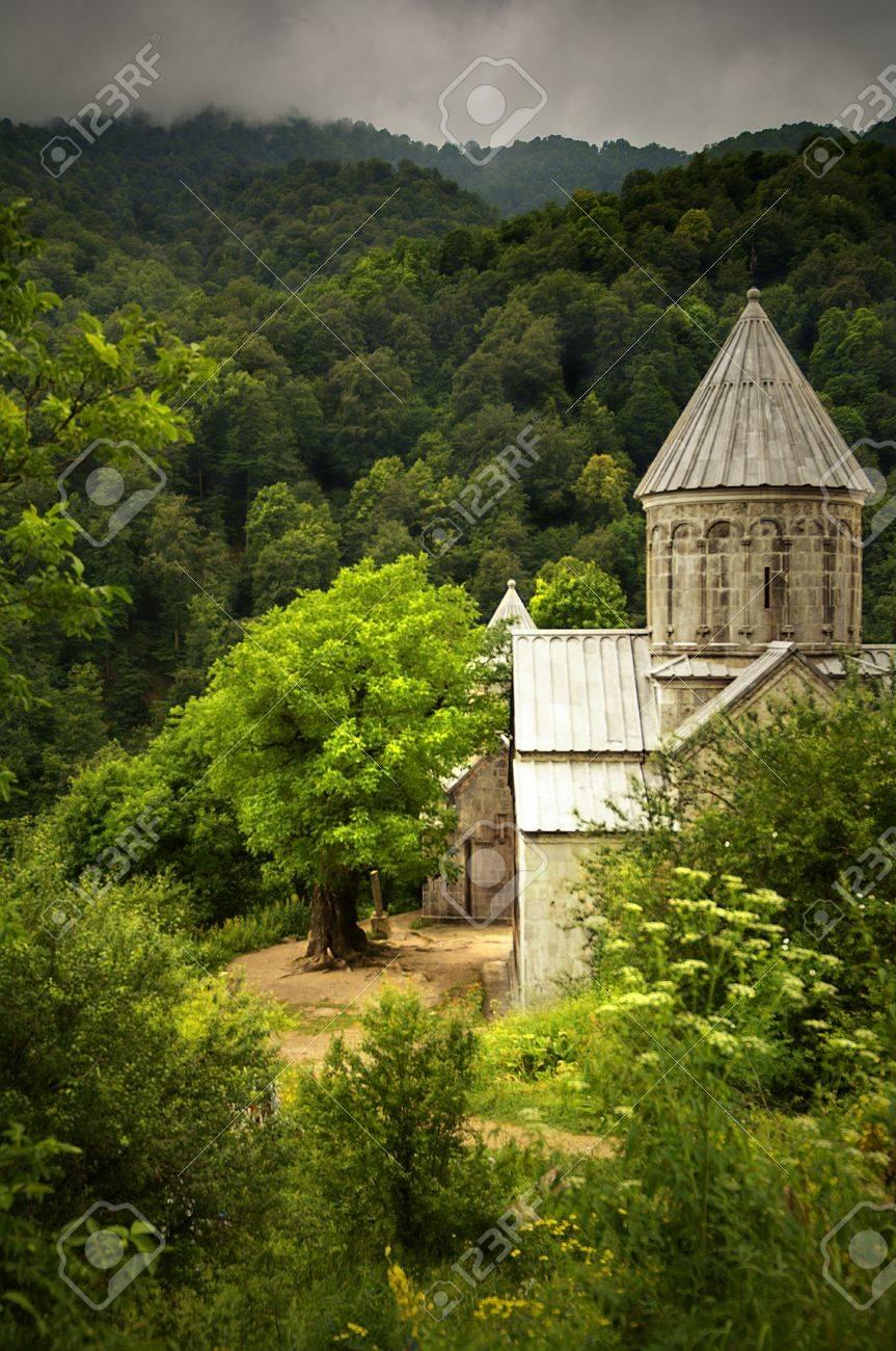 Ancient Christian Monastery / Church in Armenia - Haghatsin Monastery Stock Photo - 10398315