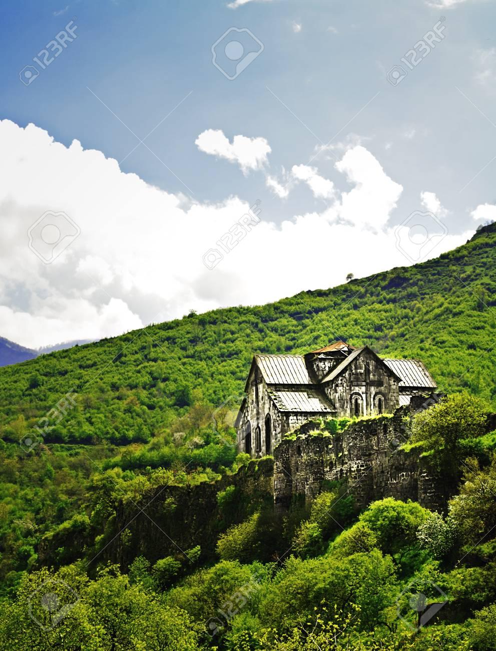 Ancient Christian Monastery / Church in Armenia - Akhtala Monastery Stock Photo - 10398314