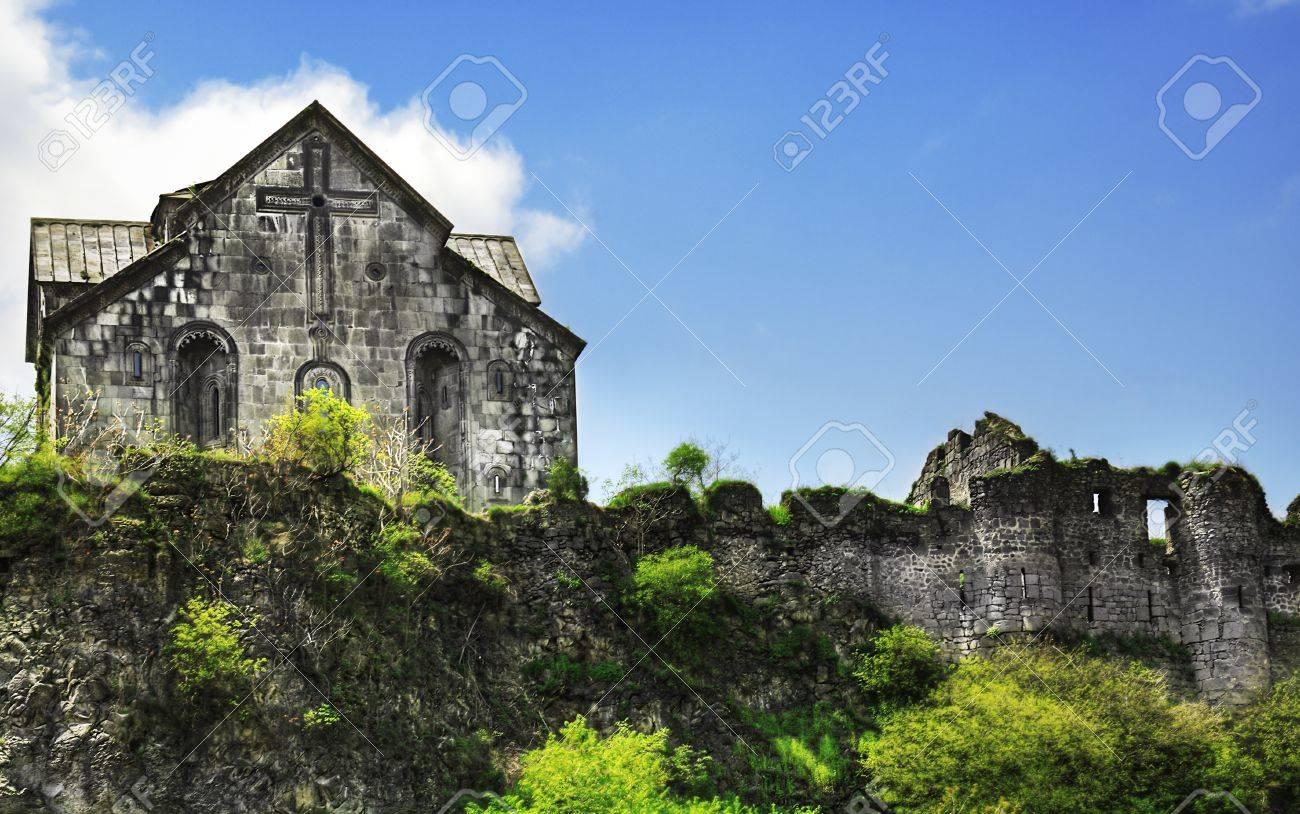 Ancient Christian Monastery / Church in Armenia - Akhtala Monastery Stock Photo - 10398312