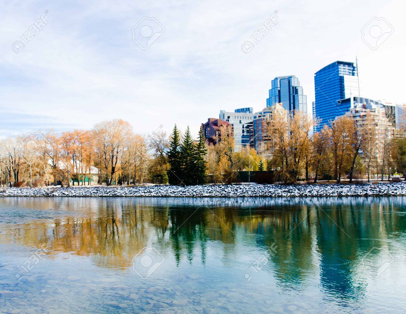 Prince s Island Park, Calgary, Canada Stock Photo - 16720624