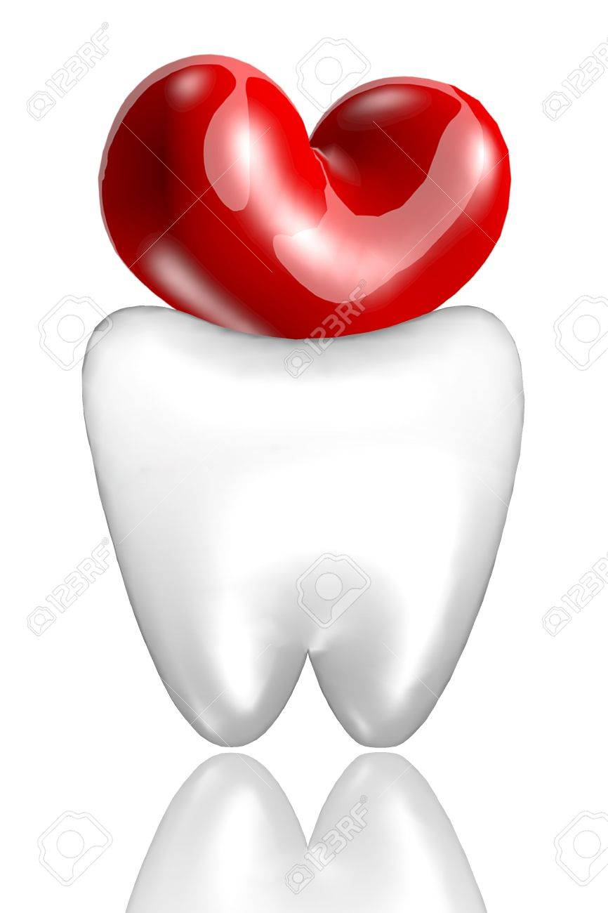 Love teeth Stock Photo - 14852733