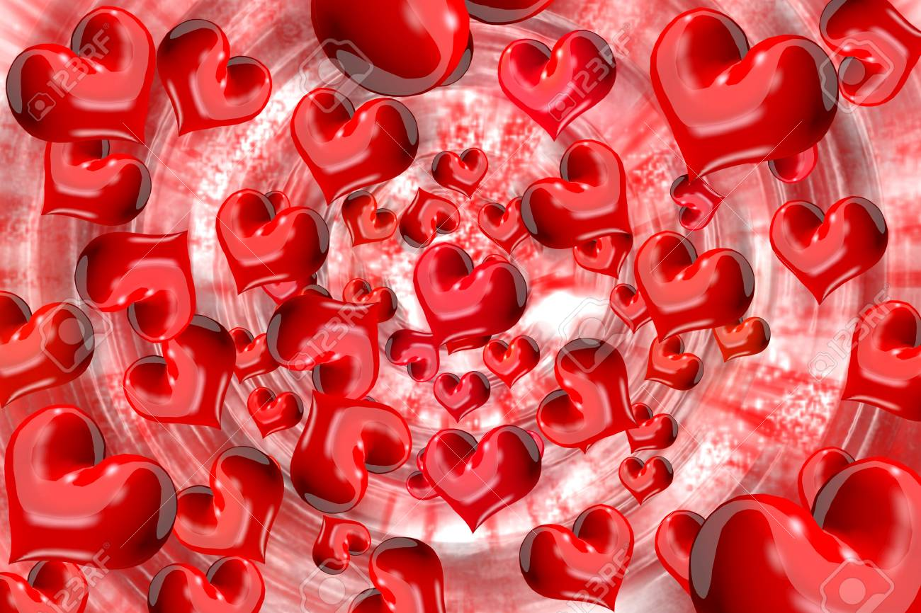 Spread the heart Stock Photo - 15286929