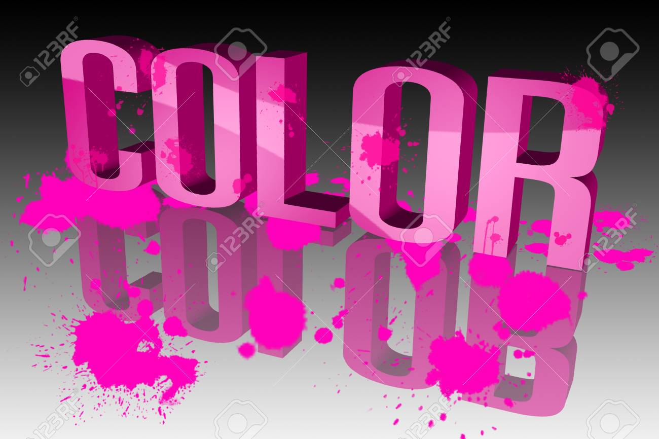 The colors are vibrant Stock Photo - 15571946