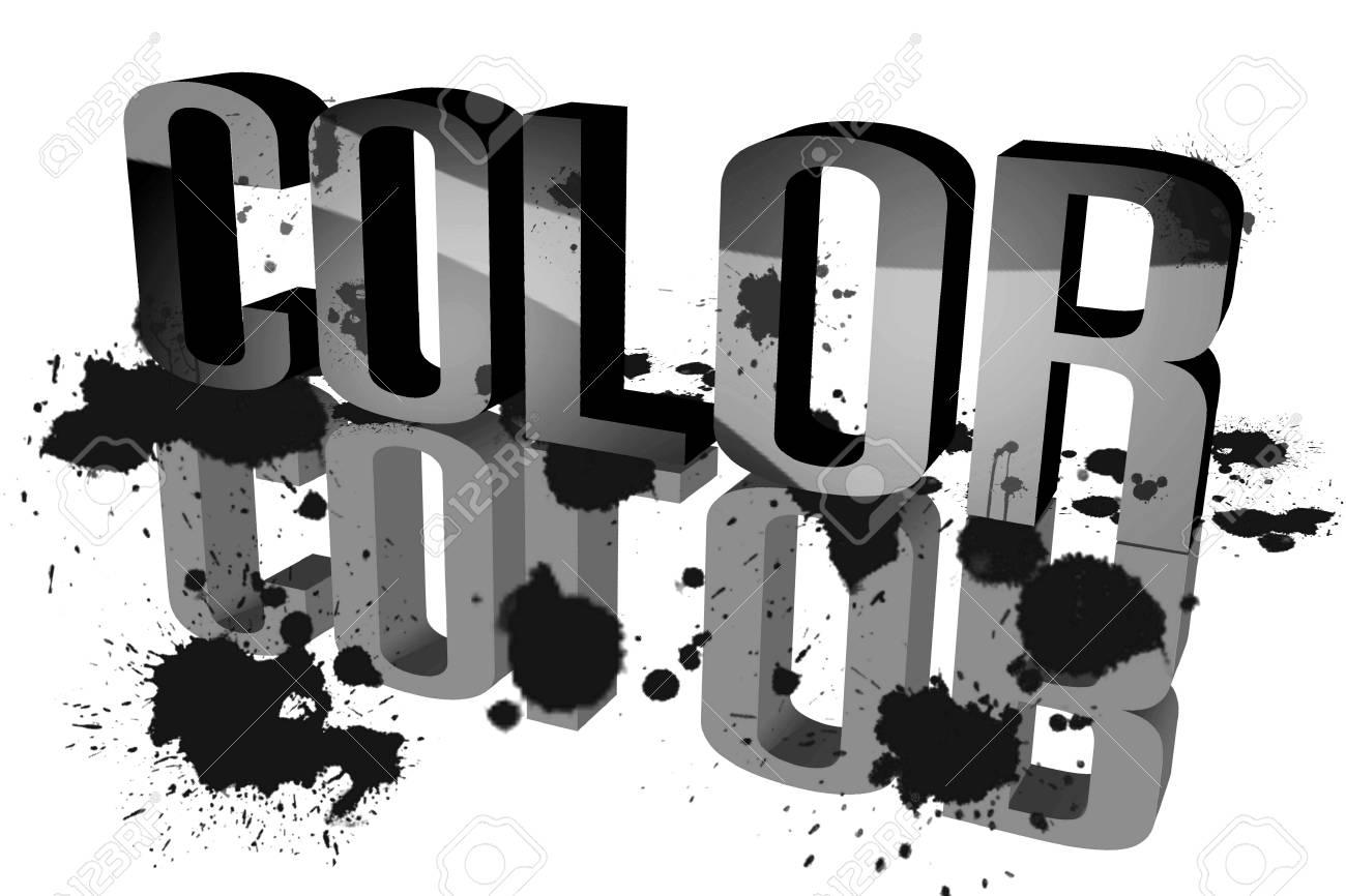 Color distribution black Stock Photo - 15571817