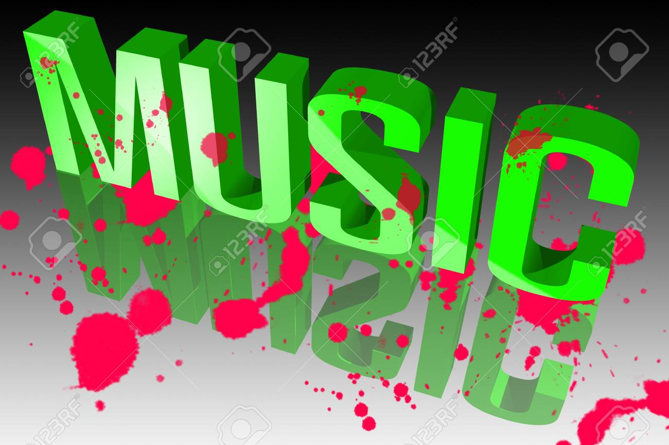 Colors of music Stock Photo - 15571883