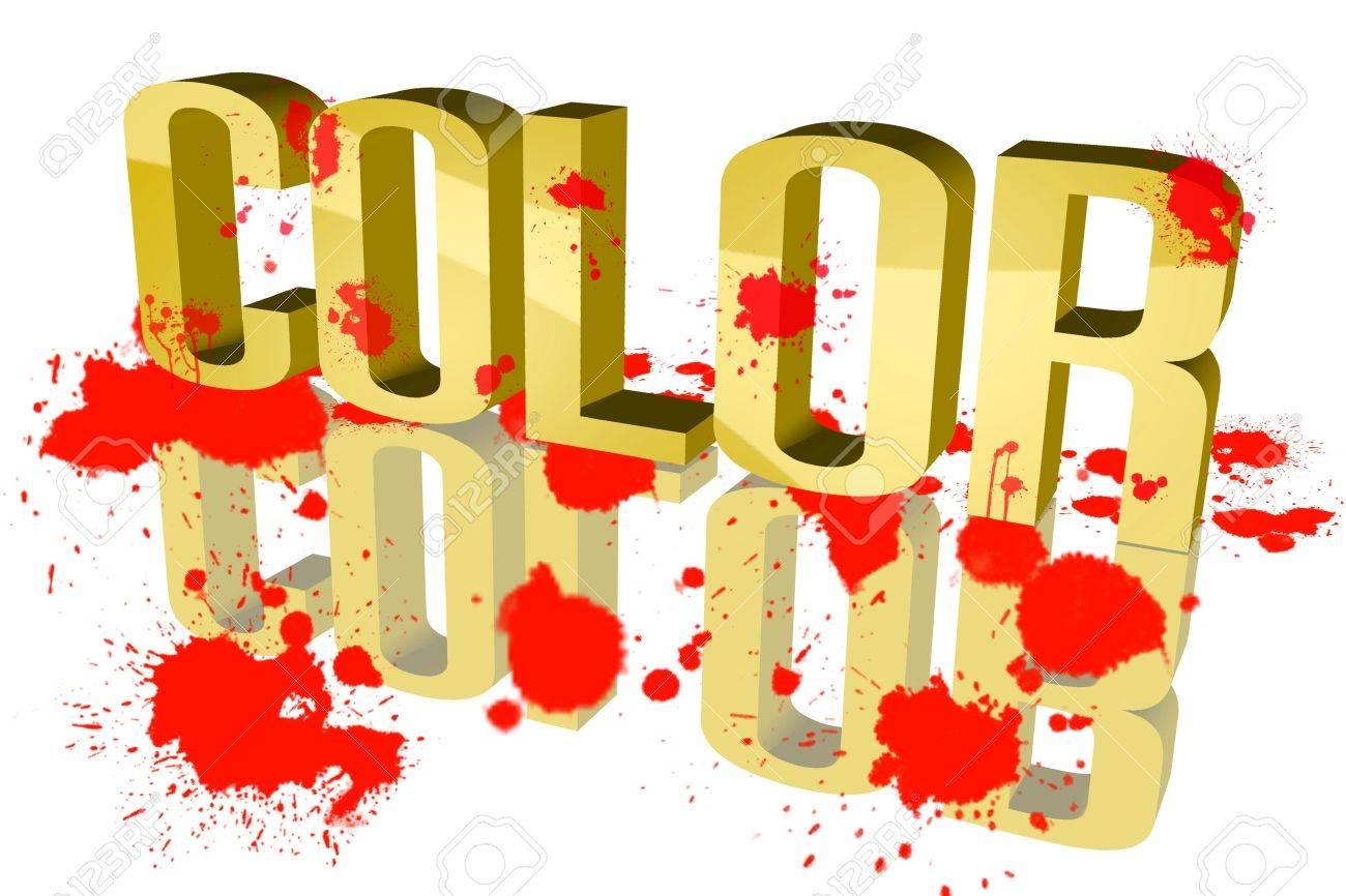 Colors sixth sloppy Stock Photo - 15578418