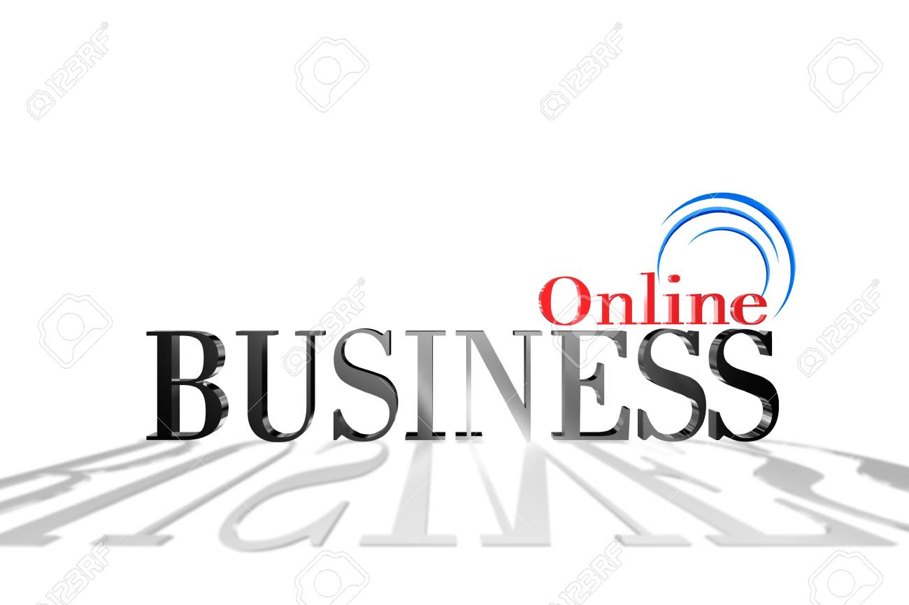 Online business can be more profitable Stock Photo - 17682549