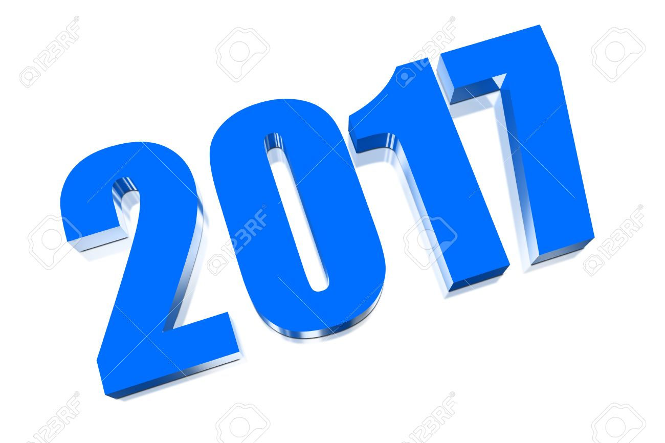 3D Happy New Year 2017 Stock Photo, Picture And Royalty Free Image ...