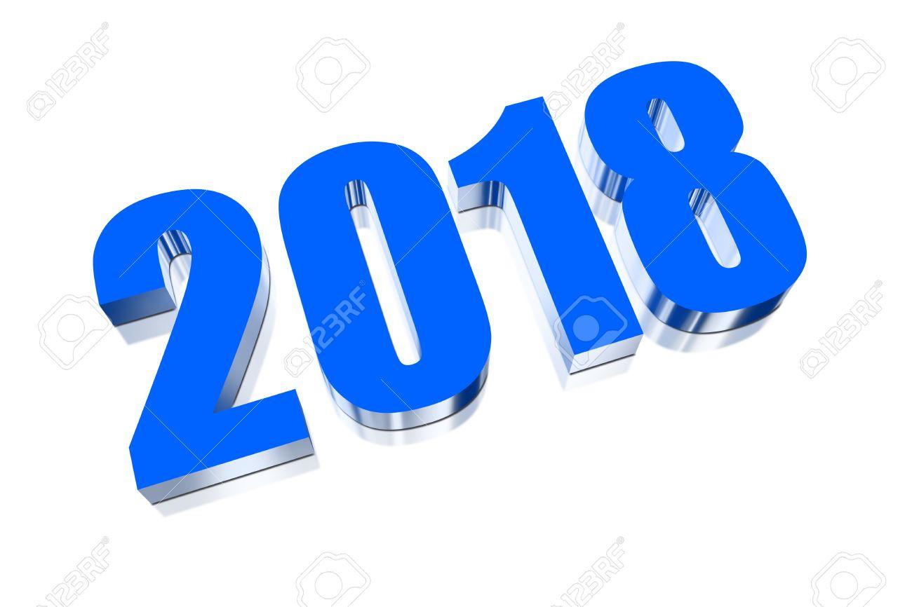 3 d 新年あけましておめでとうございます 2018 ロイヤリティーフリー