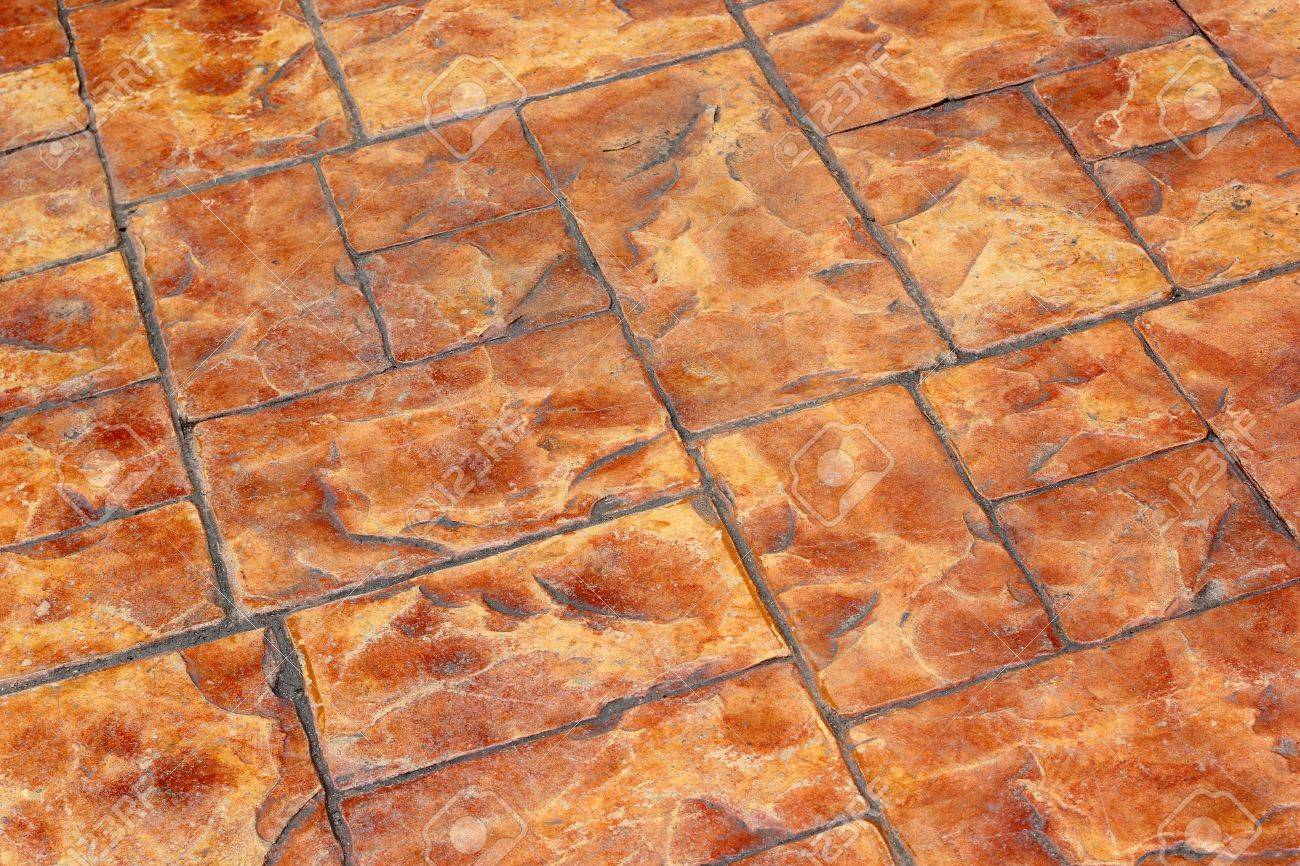 The brown stone pavement background Stock Photo - 21074594