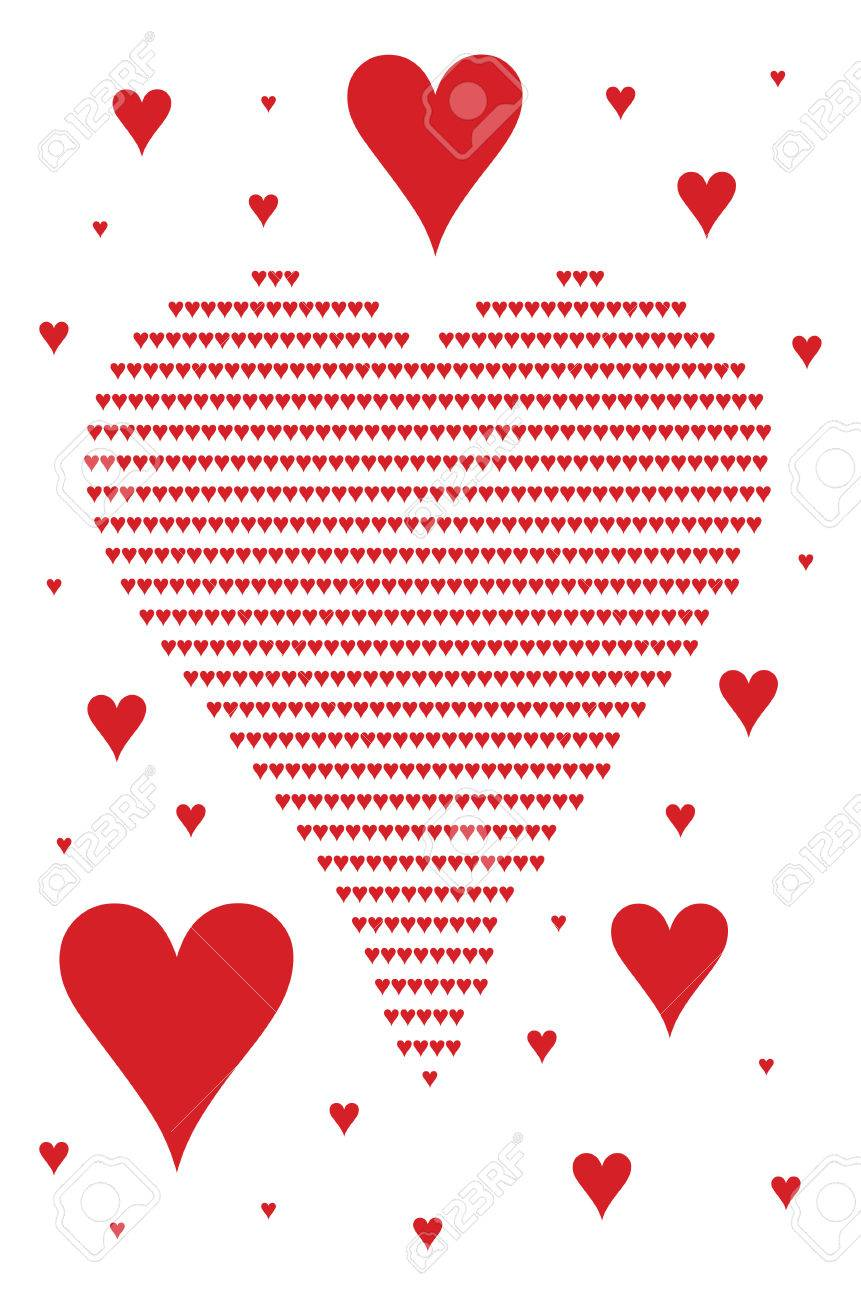 Several hearts symbols in different sizes stock photo picture and several hearts symbols in different sizes stock photo 27143686 buycottarizona Images