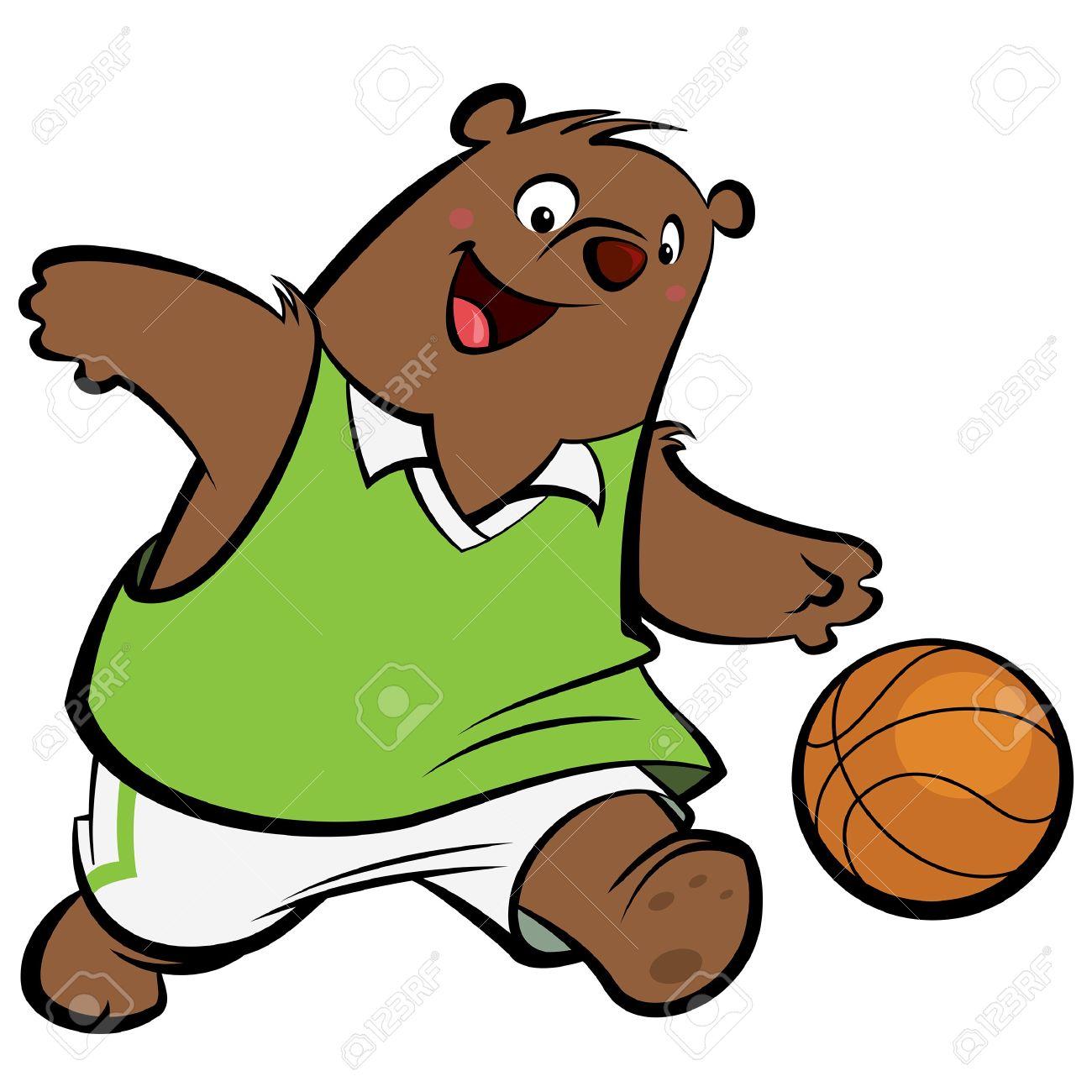 Dessin animé basket