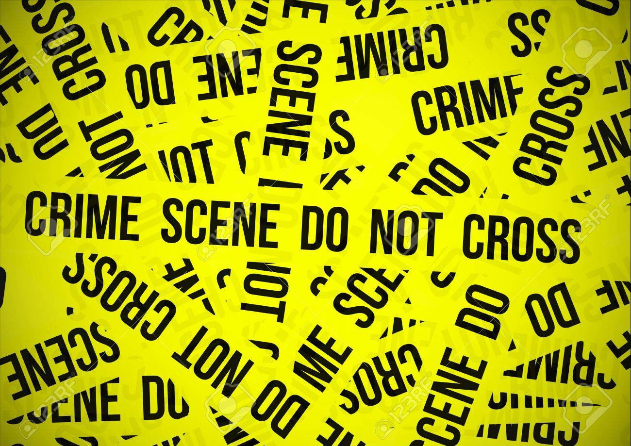 Crime scene do not cross Stock Vector - 9572963