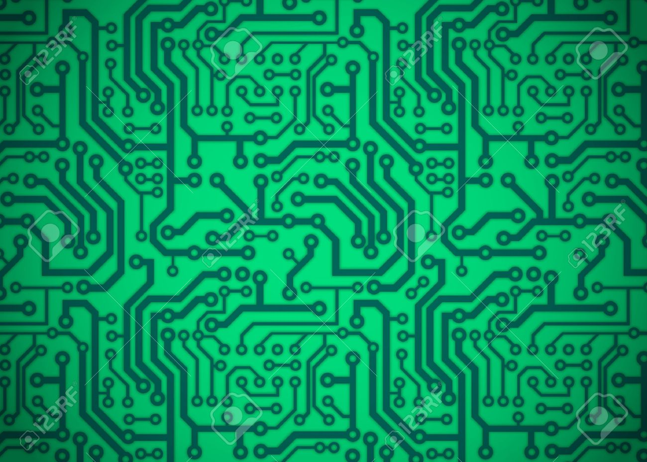 Printed Circuit Board Royalty Free Cliparts, Vectors, And Stock ...