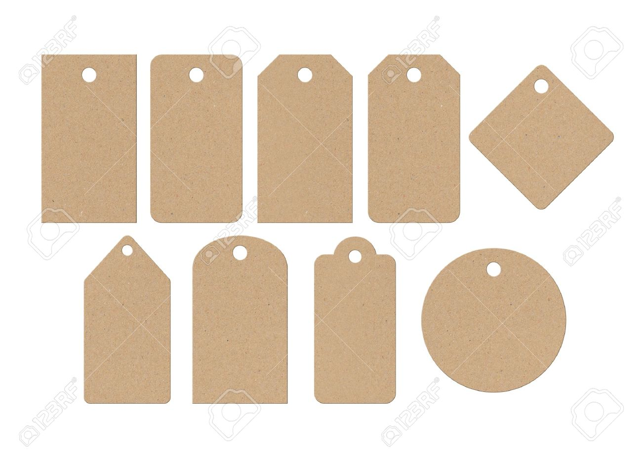 Cardboard Labels Stock Photo, Picture And Royalty Free Image ...