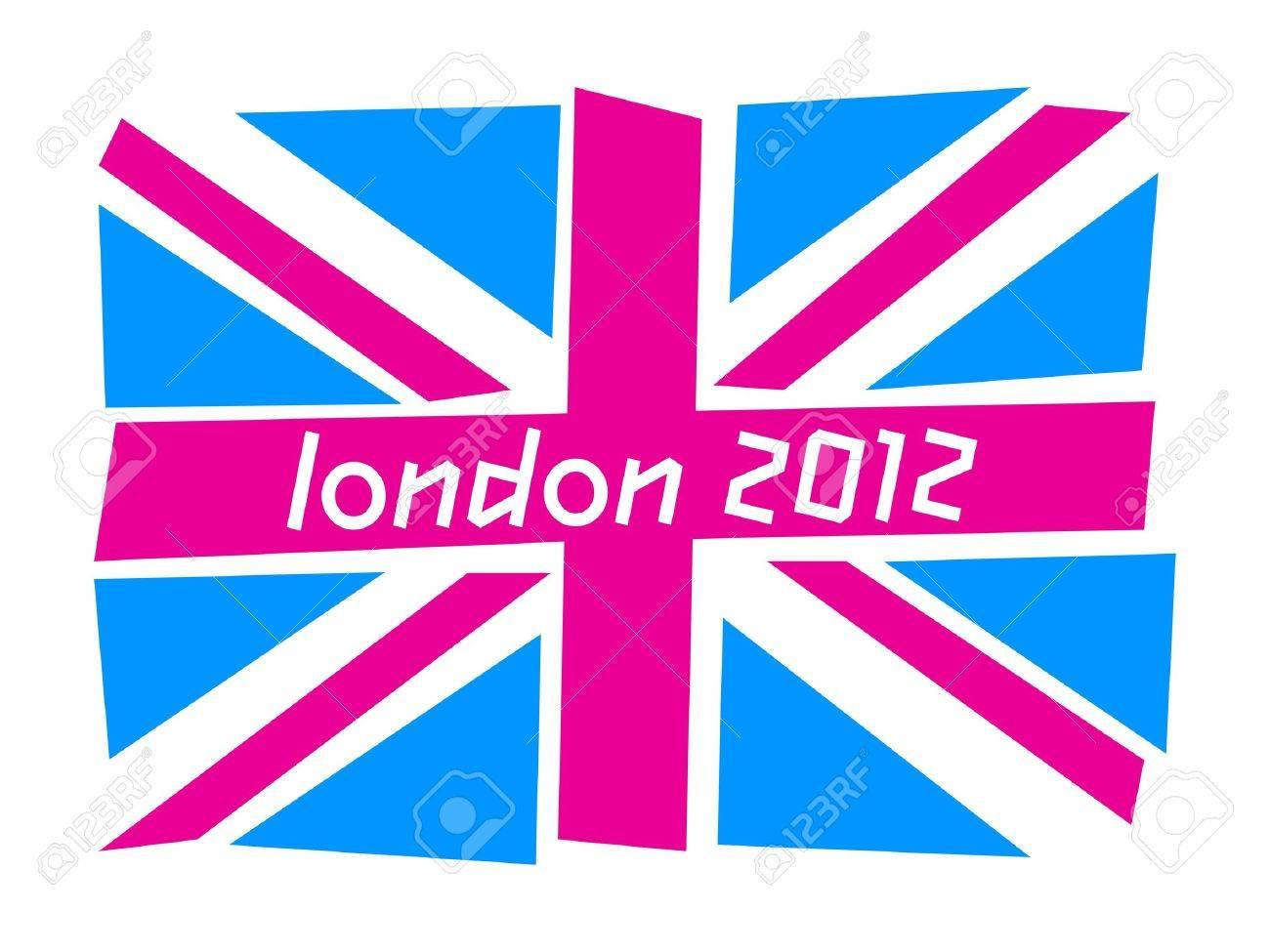 UK flag London 2012 - 12495107