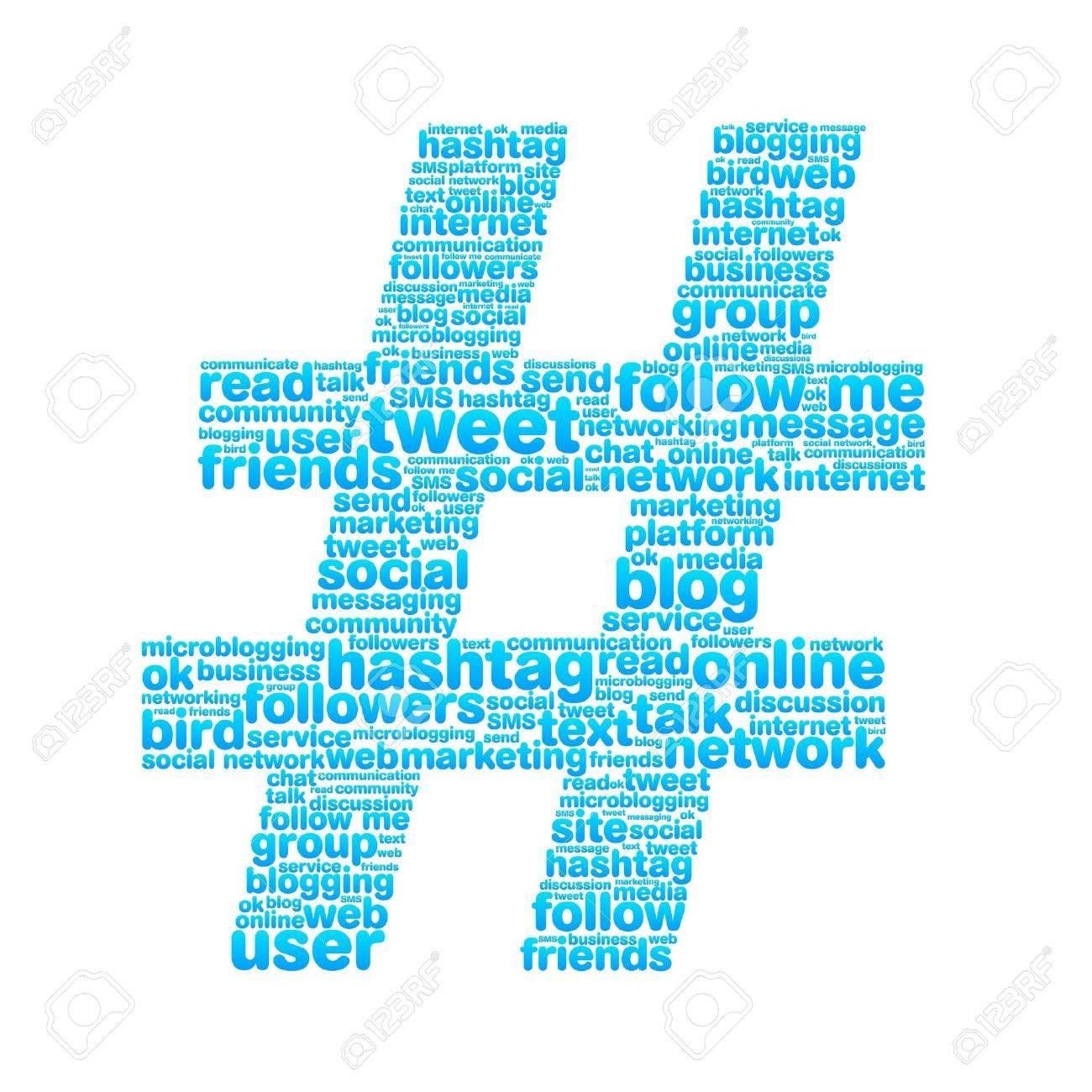 Hashtag Stock Vector - 13276610