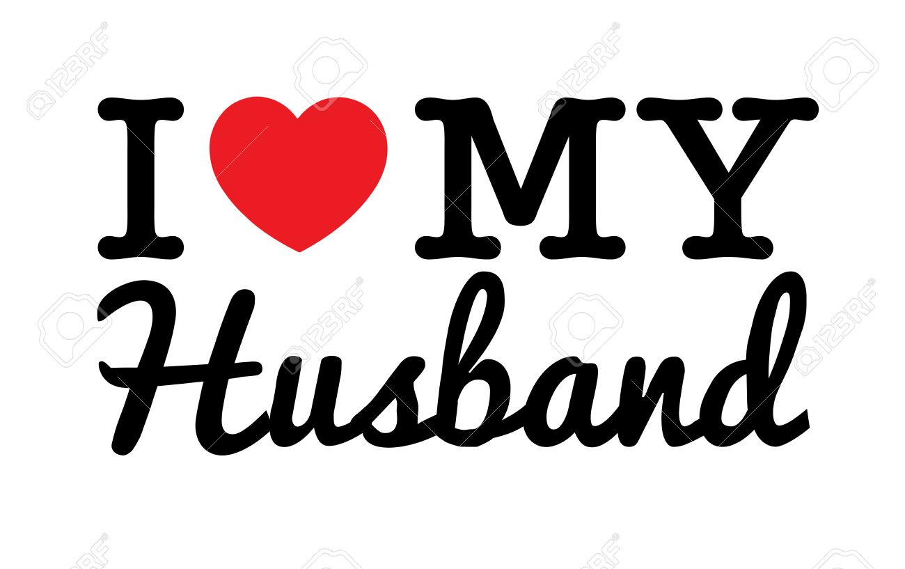 I Love My Husband Royalty Free Cliparts Vectors And Stock