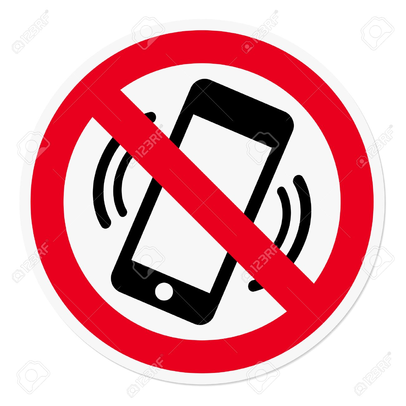 Mobile Phone prohibited - 27530350