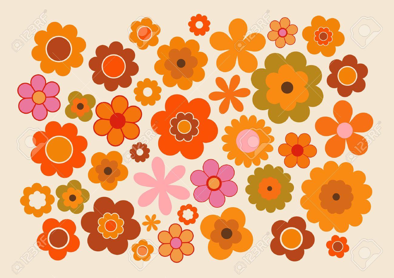 Vintage Flowers - 53161266
