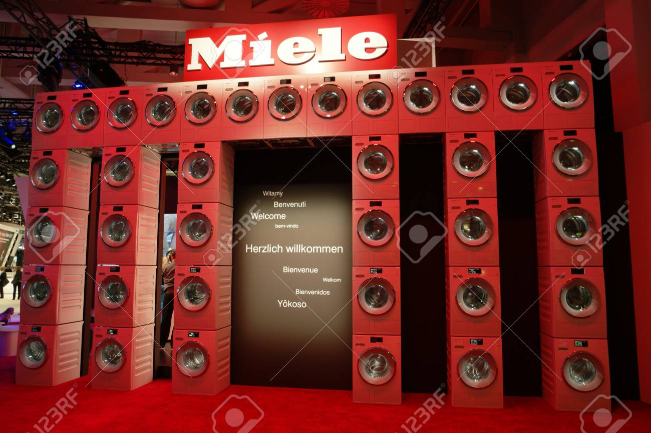 Ifa 2015 Berlin Germany Entrance Hall Miele Stock Photo Picture