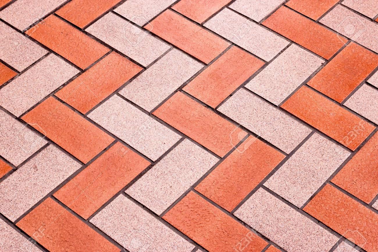 Floor tile block pattern for house quarry tile
