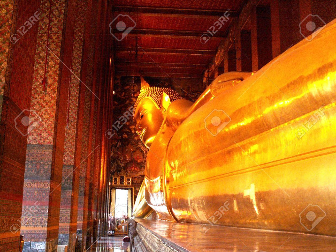 Temple of the Reclining Buddha (Wat Pho) Bangkok Stock Photo - 4897604 & Temple Of The Reclining Buddha (Wat Pho) Bangkok Stock Photo ... islam-shia.org