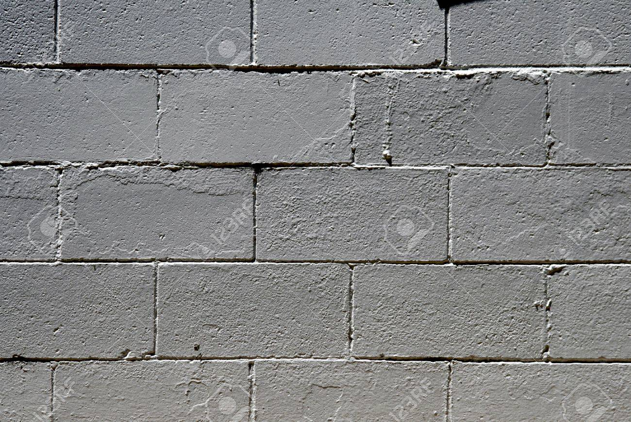 Stone Texture Big Grey Bricks Wall Construction Background Stock Photo