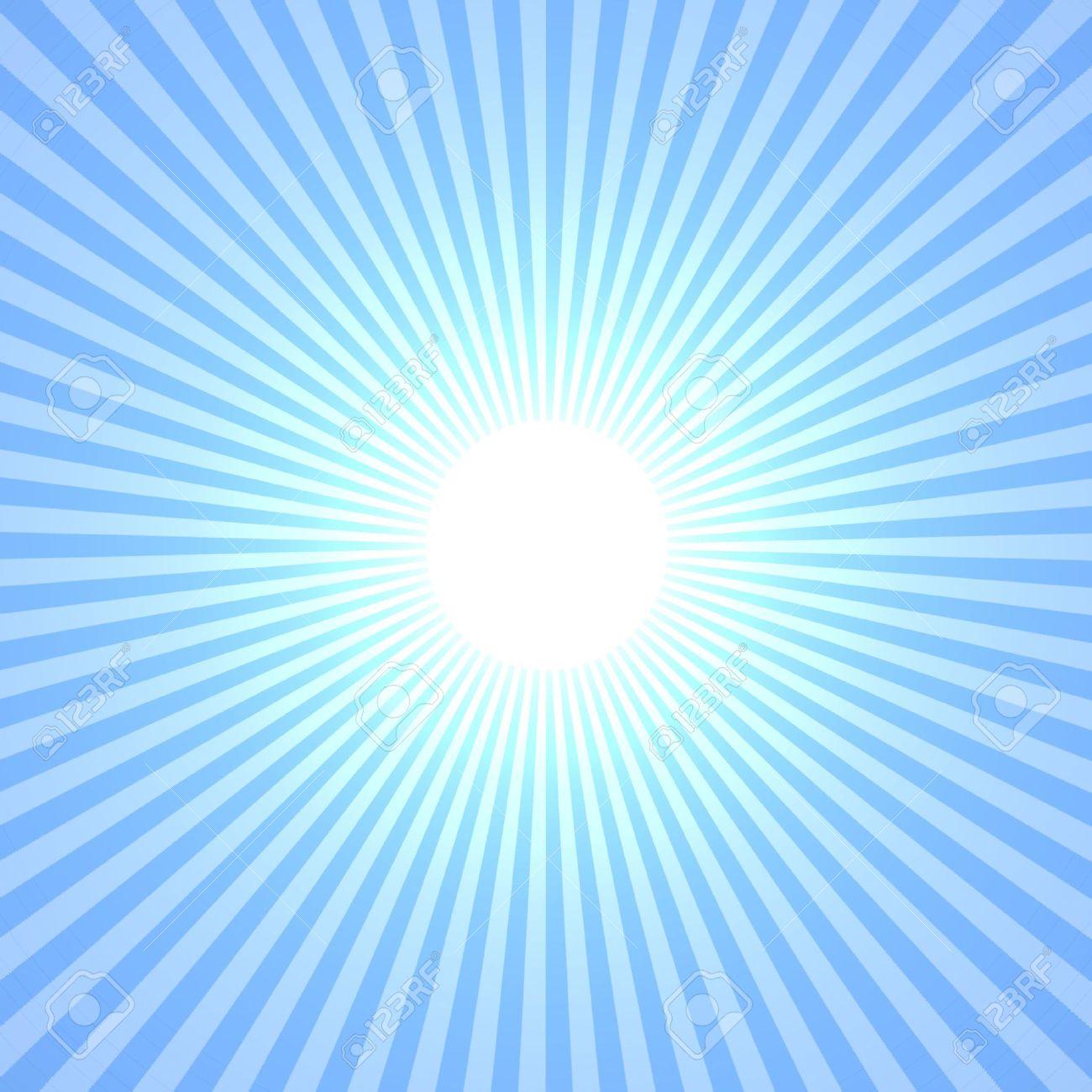 Sun Rays Sunburst Light Rays Sunbeam Stock Vector 655109869 ...