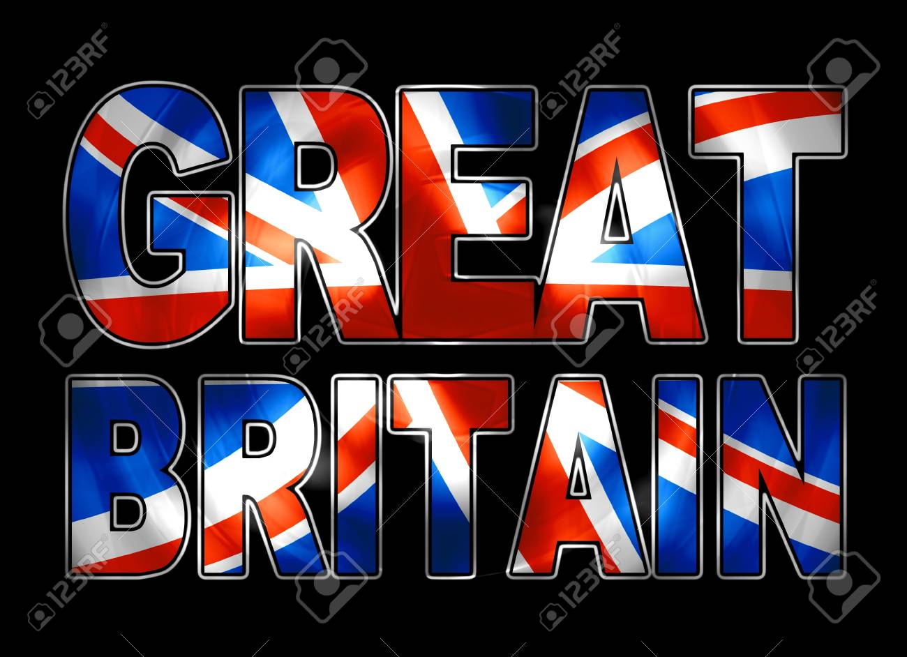 great britain vibrant Stock Photo - 10818105