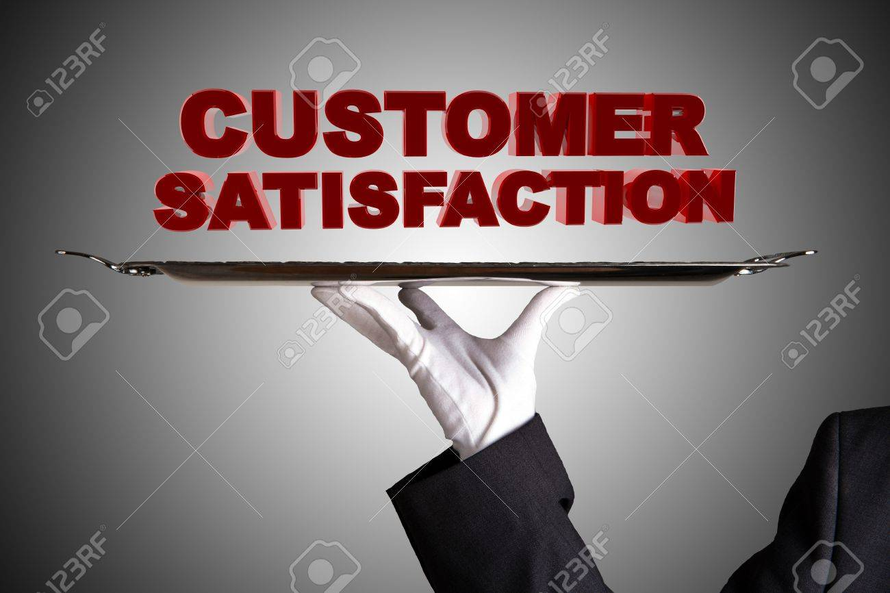 First Class Customer Satisfaction Stock Photo - 15036778