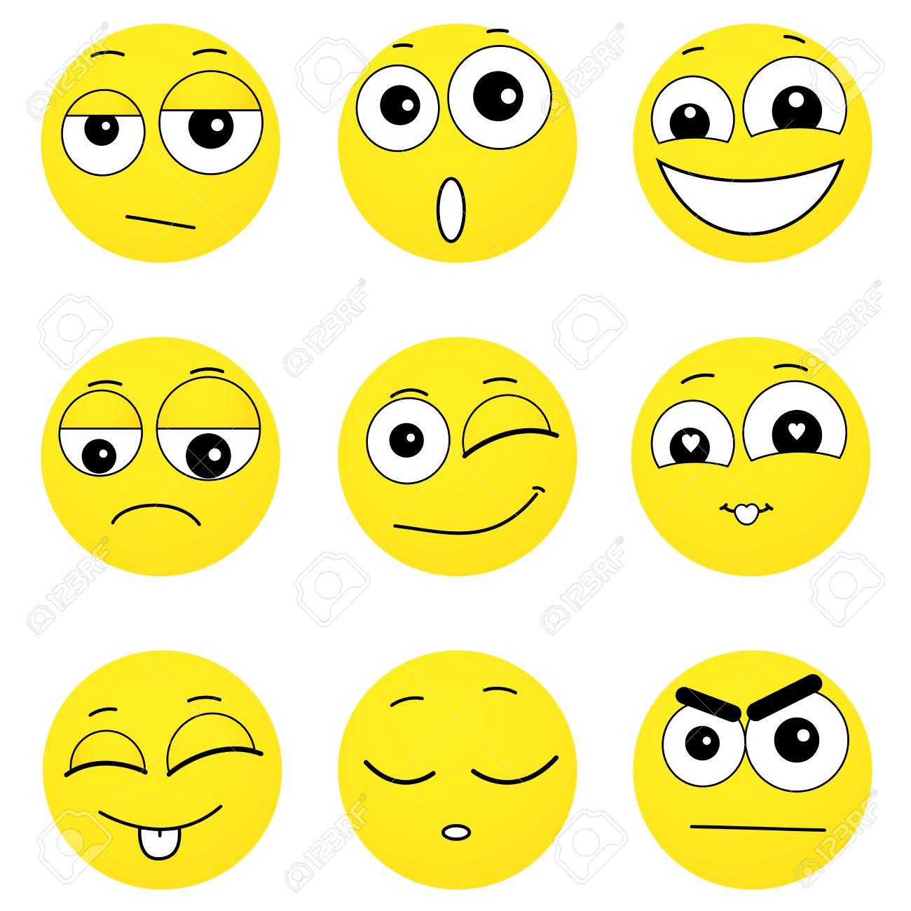 Zum ausdrucken smilies 40 Smiley