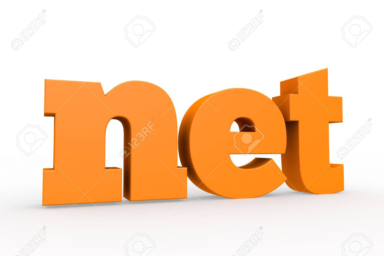 The best-known domains, 3d format Stock Photo - 15705387