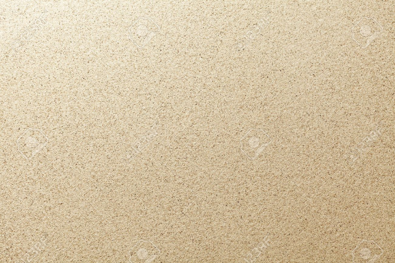 Sandy Beach Background Detailed Sand Texture Top View Stock Photo