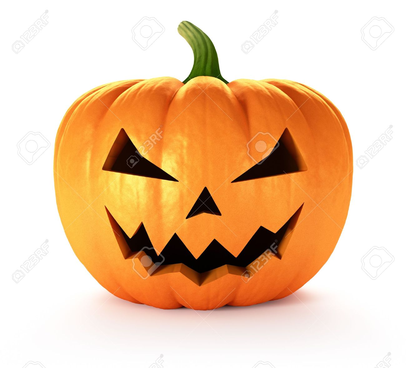 Scary Jack O Lantern Halloween Pumpkin 3d Render Stock Photo Picture And Royalty Free Image Image 15320522
