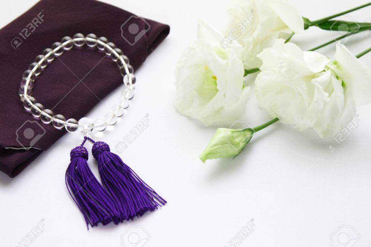 Rosary, Lisianthus - 15780666