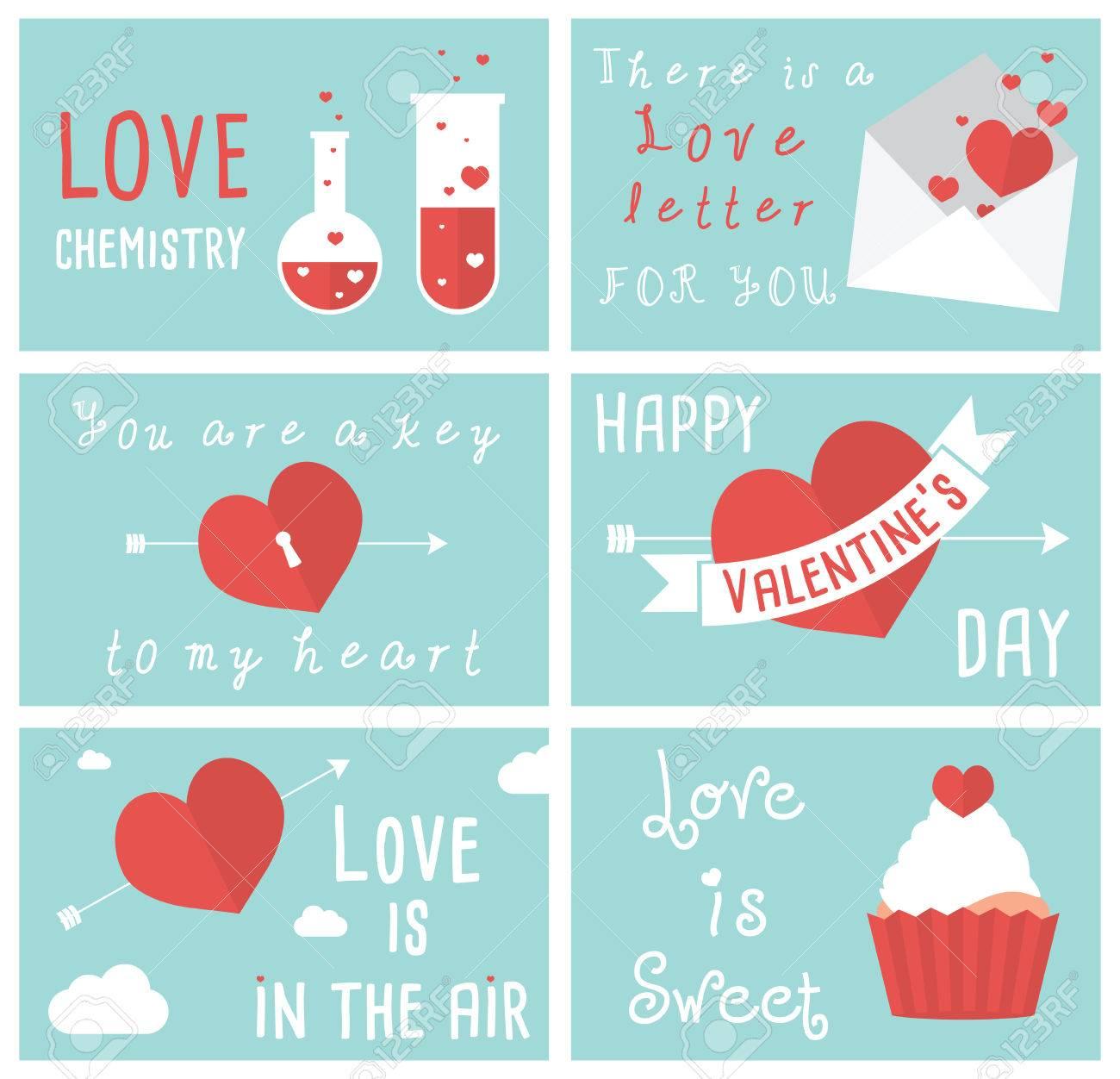 Set of modern flat design illustrations of valentines day greeting set of modern flat design illustrations of valentines day greeting cards stock vector 37066582 m4hsunfo