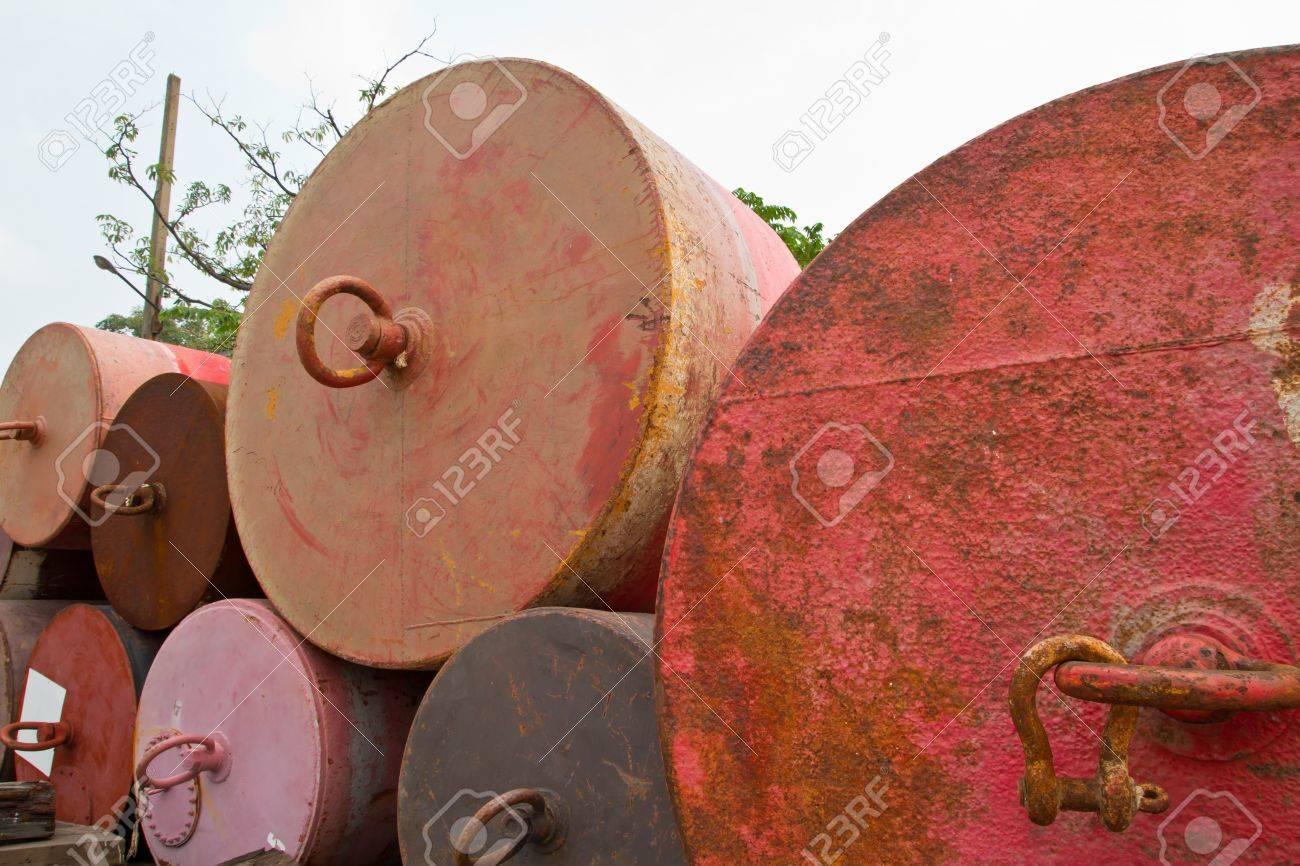 Mooring buoys Stock Photo - 17710889
