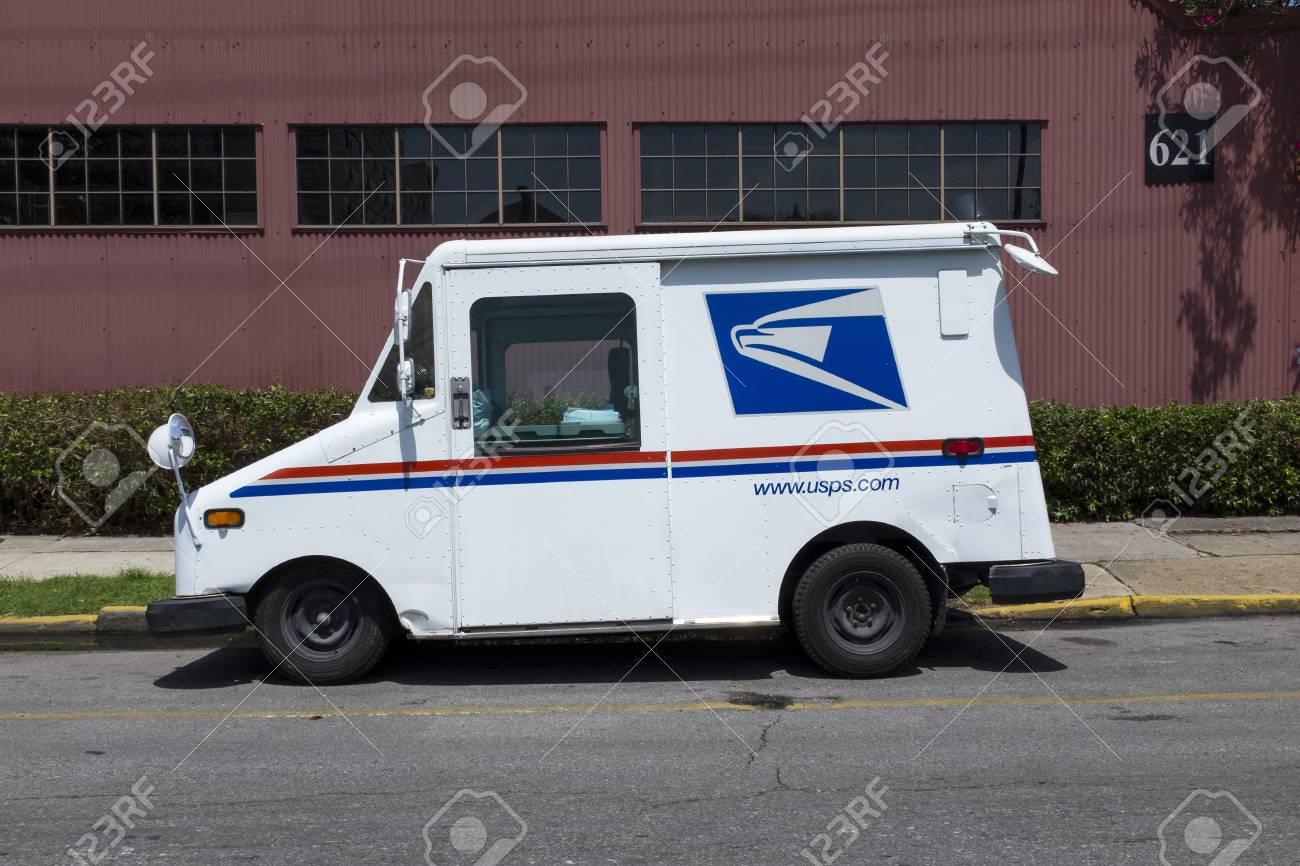 New Orleans Louisiana June 17 2014 United States Postal