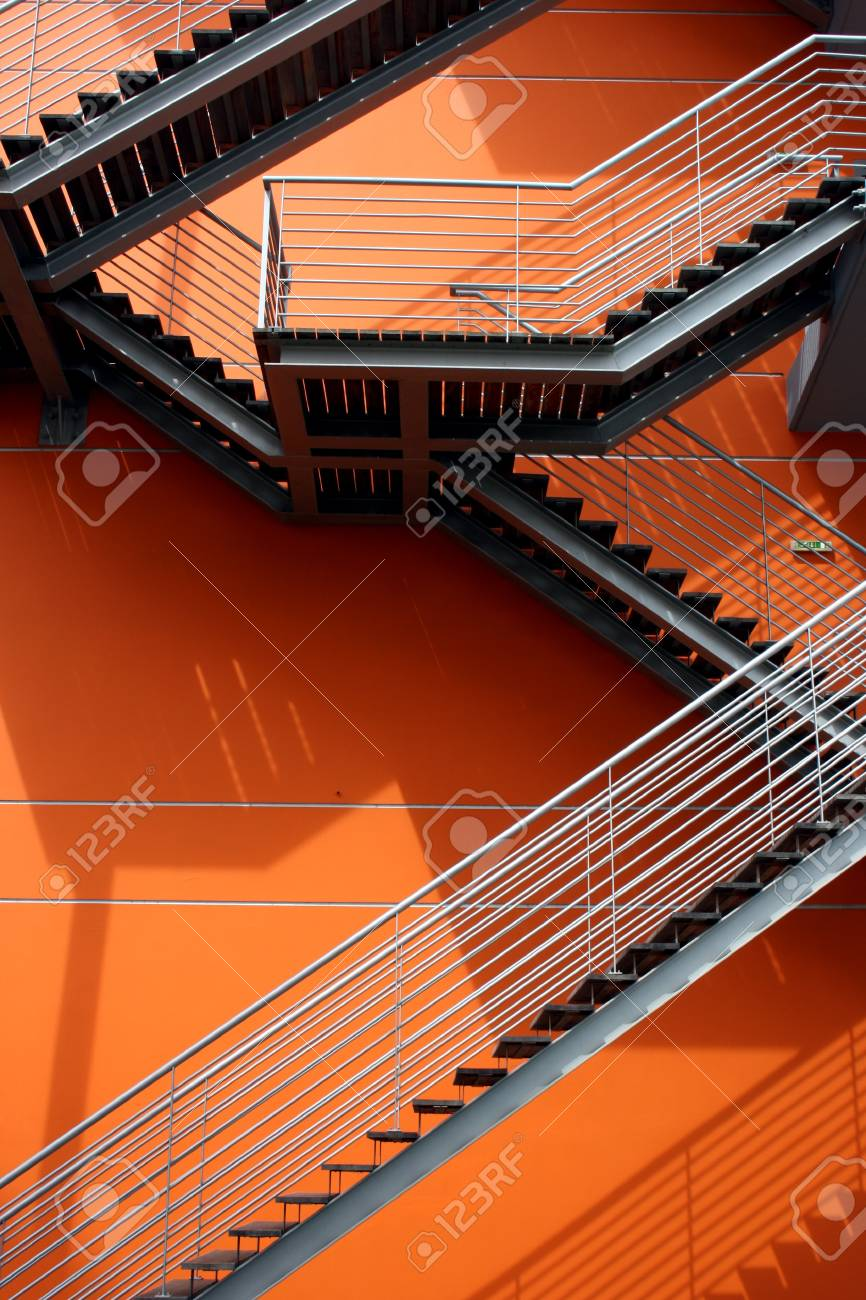 Detail of a building in a new quarter of the Nations Park Stock Photo - 15383753