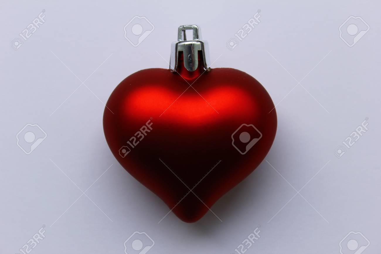 Red Christmas Heart Stock Photo - 16381165