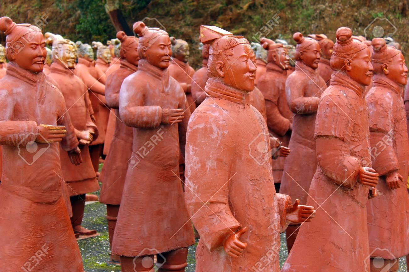 Terracotta Warriors Stock Photo - 16531733