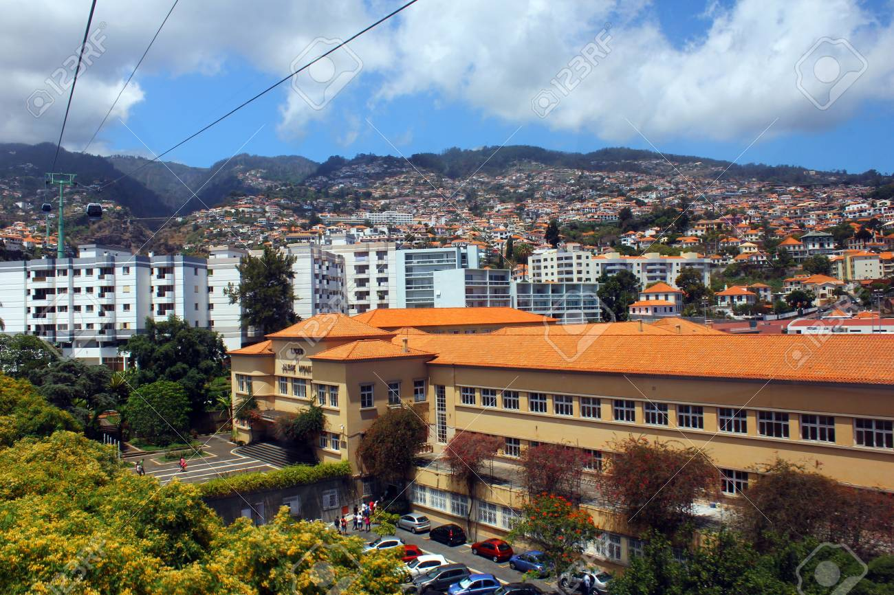 Cablecar, Madeira island, Portugal Stock Photo - 17298699