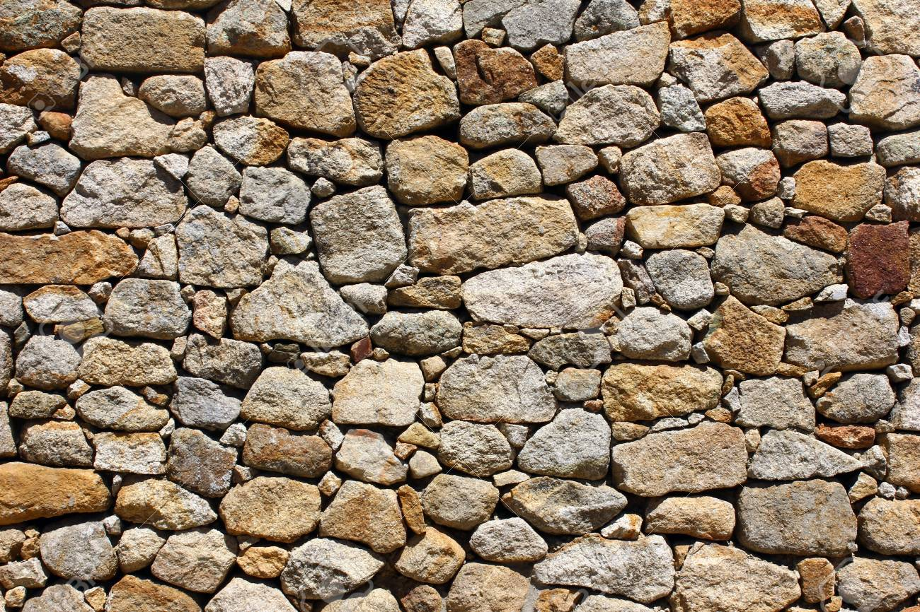 Detail of a stone wall Stock Photo - 21298882