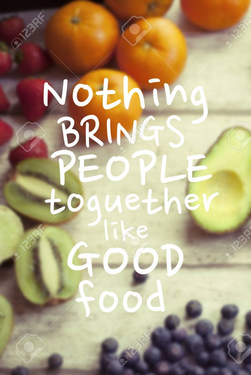 Healthy Eating Quote Stock Photo Picture And Royalty Free Image Image 45569776