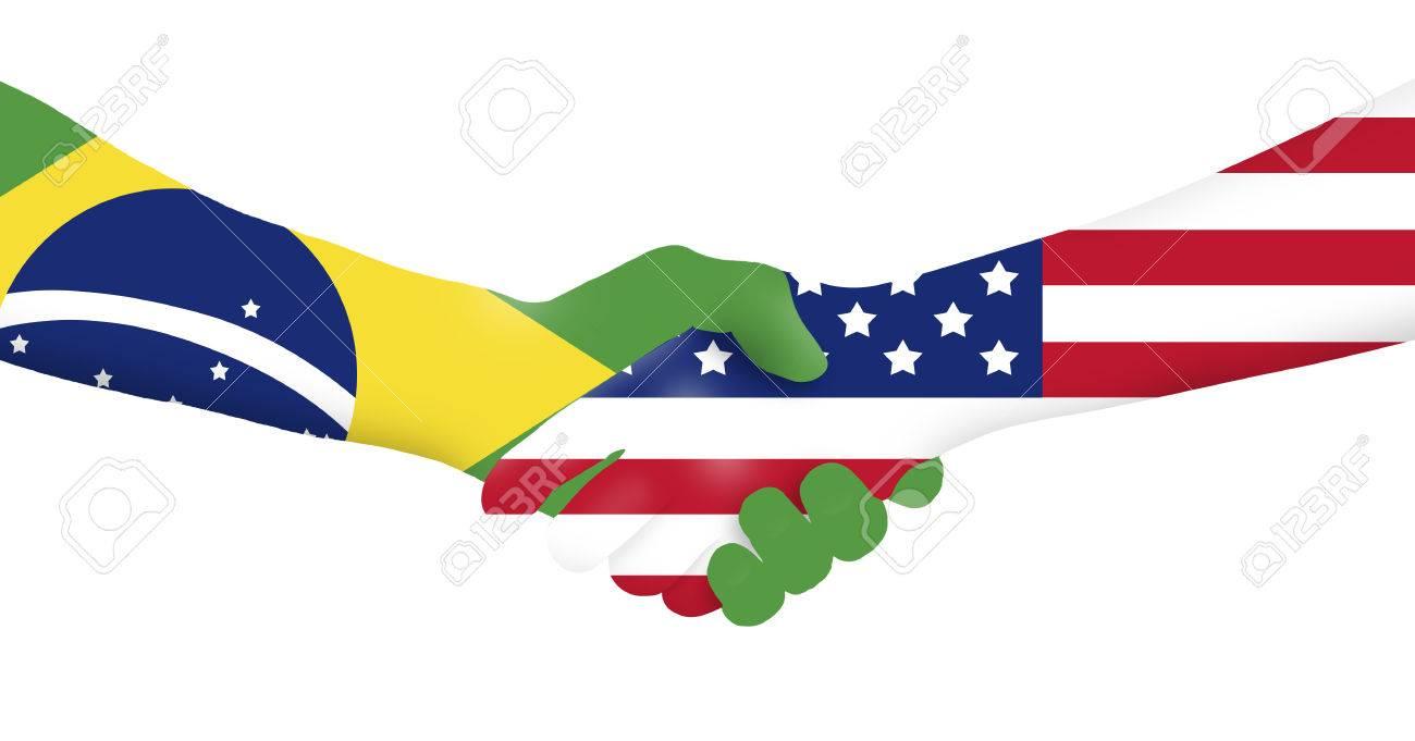 International business - Brazil - USA - 64496877