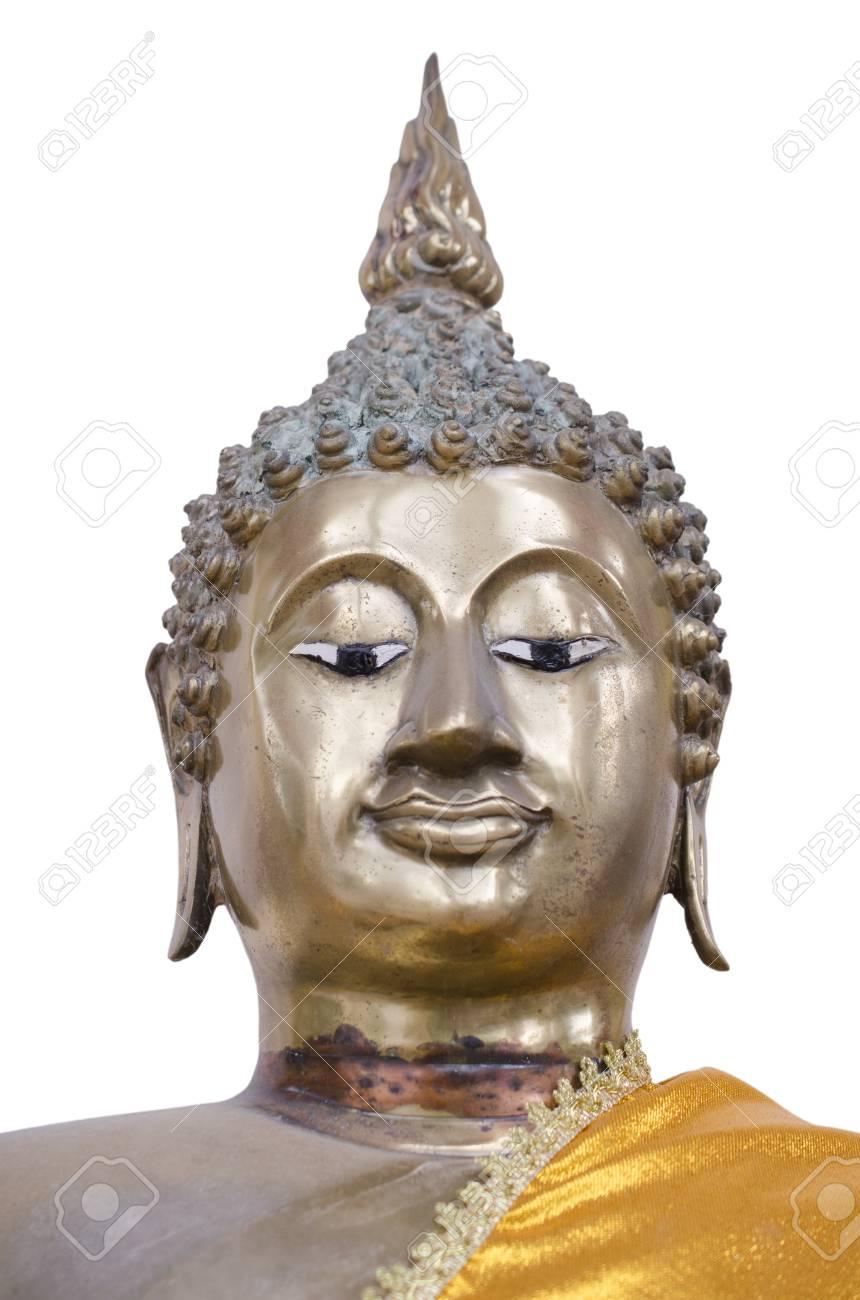 青銅で作られた仏顔 ロイヤリテ...