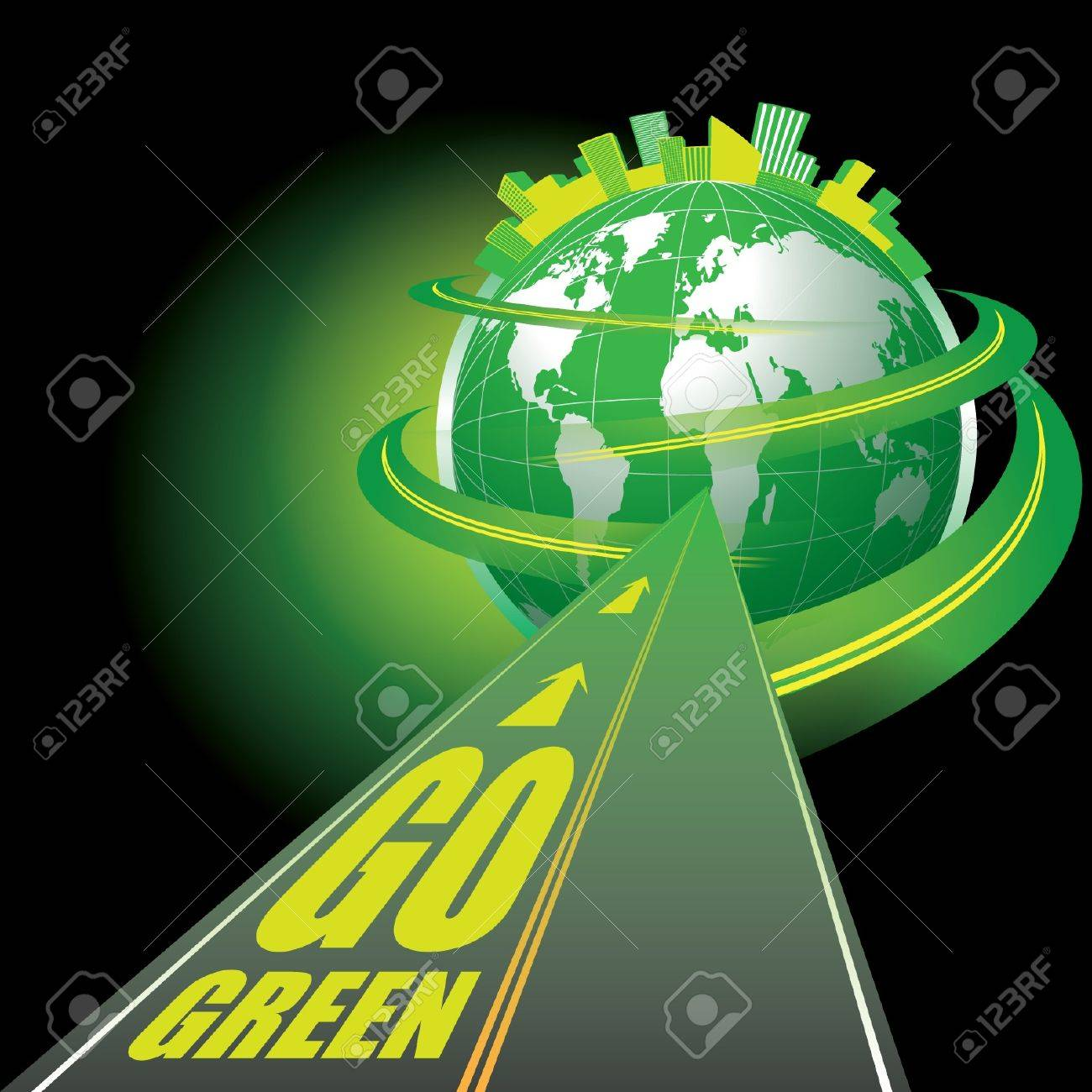 Go Green - 12789378