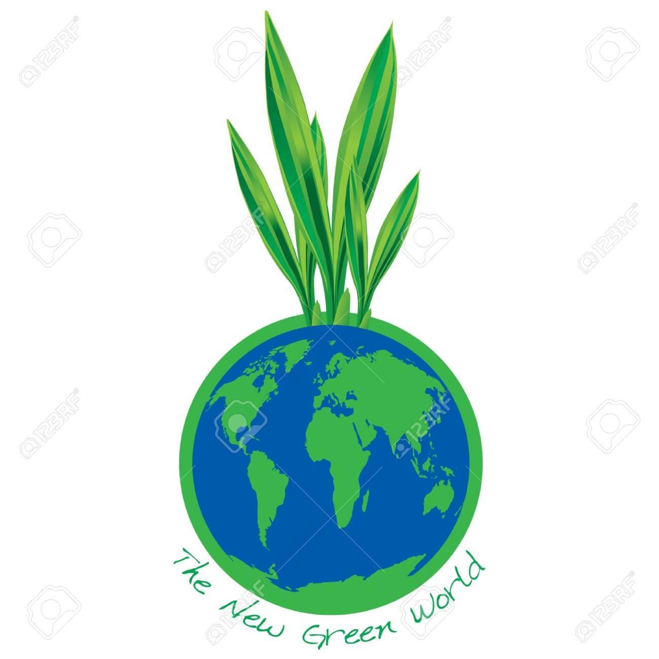 New green world Stock Vector - 13568433