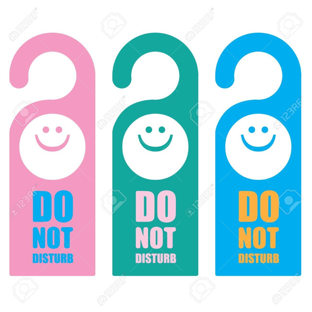 Signs Do not Disturb - 14179975